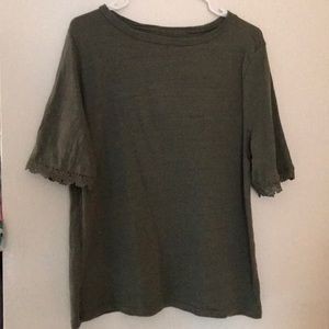 3/4 sleeve loft top